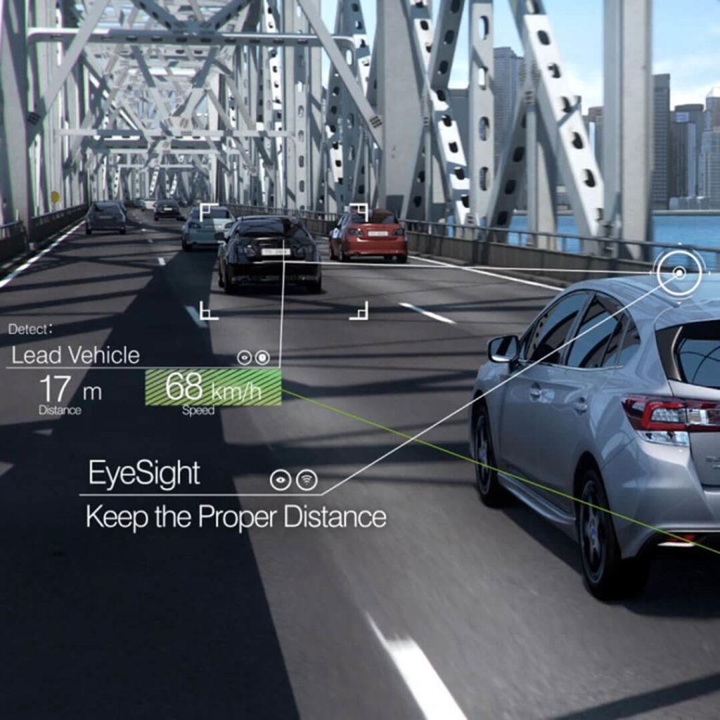 Subaru EyeSight Adaptive Cruise Control