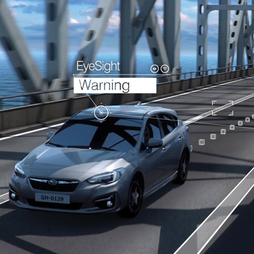 EyeSight Pre-Collision Braking