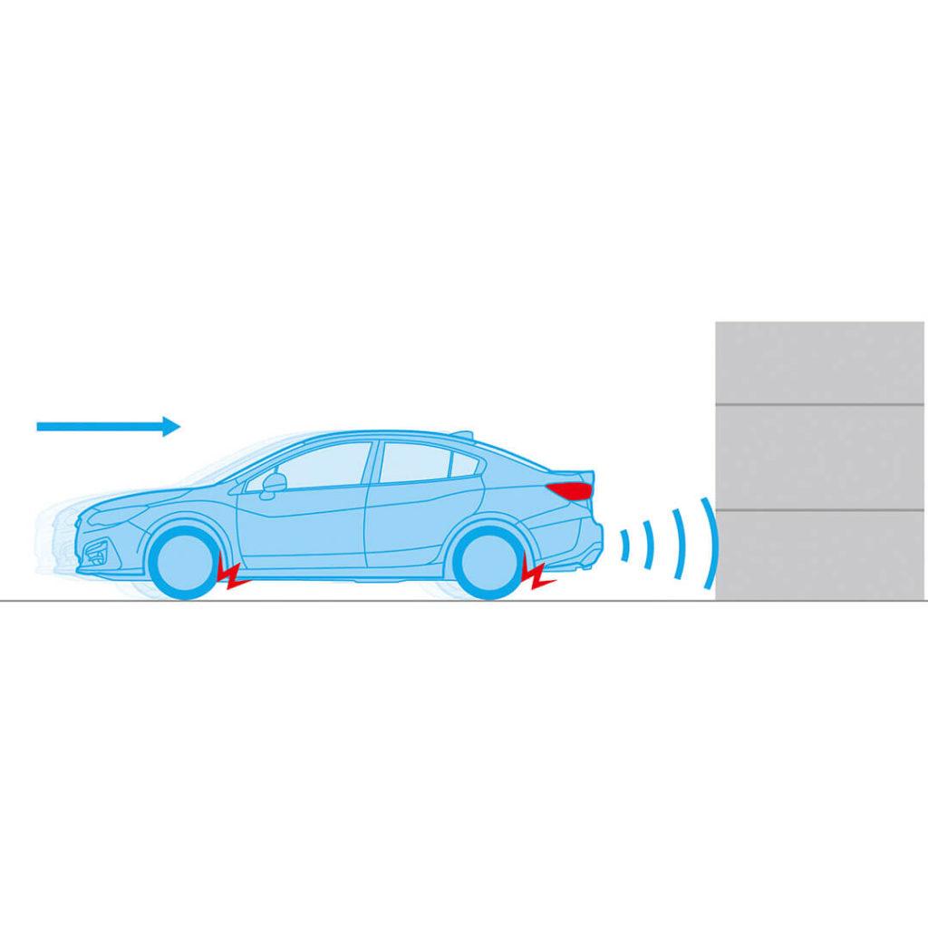 Subaru Rear Vehicle Detection