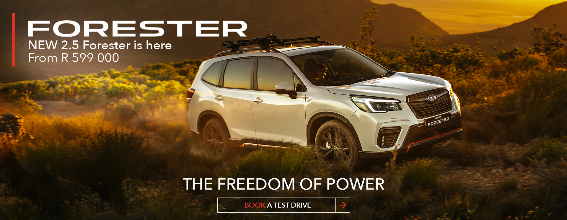 New Forester 2.5 Forester Sport