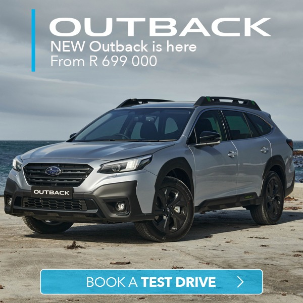New 2021 Subaru OUTBACK South Africa