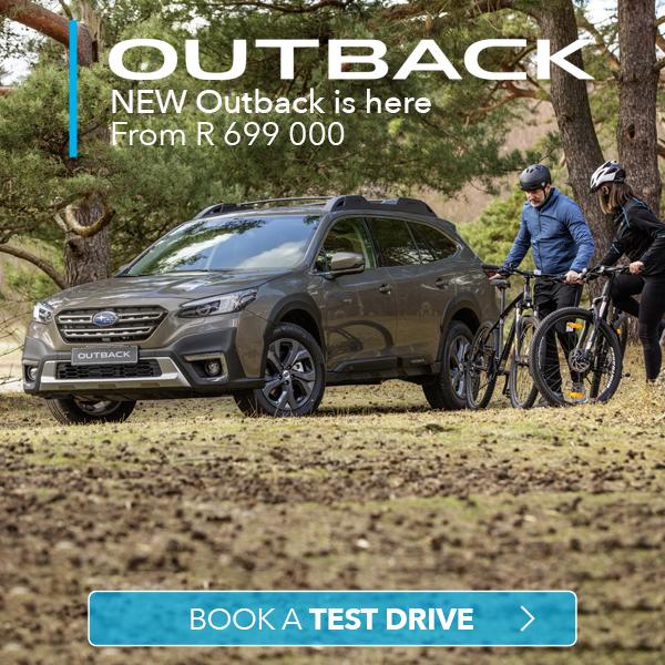 Subaru SA Subaru Outback Field & Touring