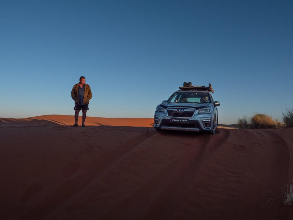 Subaru Forester South Africa SUV 4x4 Sand Dunes Adventure Kgalagadi